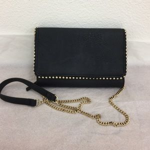 INC Black and Gold wallet/Purse 032101